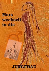 Mars in Jungfrau  mit Schrift