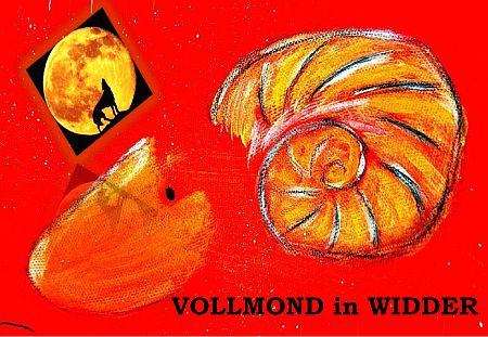 Vollmond in Widder mit Schrift 72 DPI