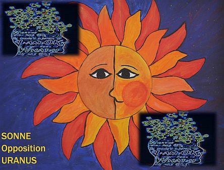 Sonne Opposition Uranus 72 DPI