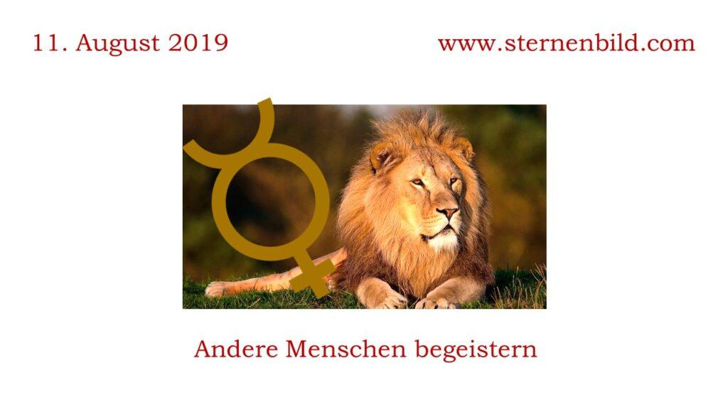 Merkur in Löwe