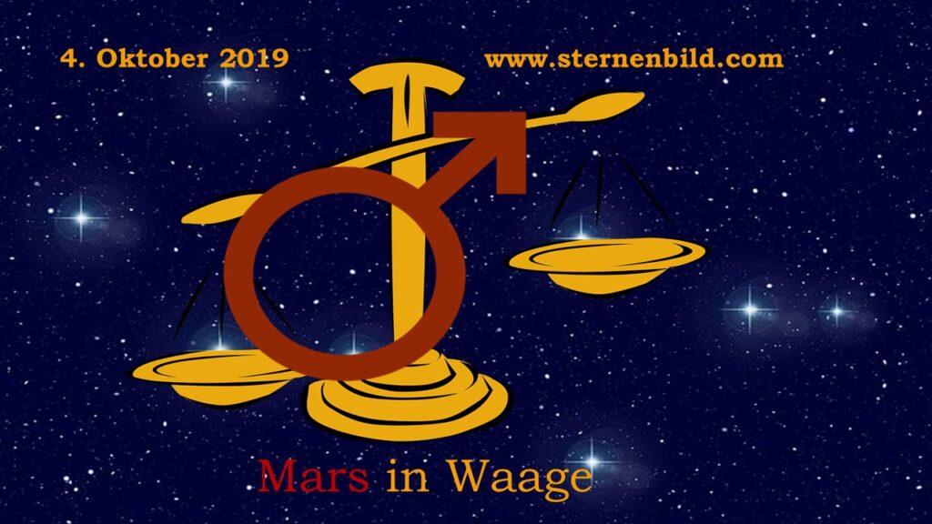 Mars in der Waage