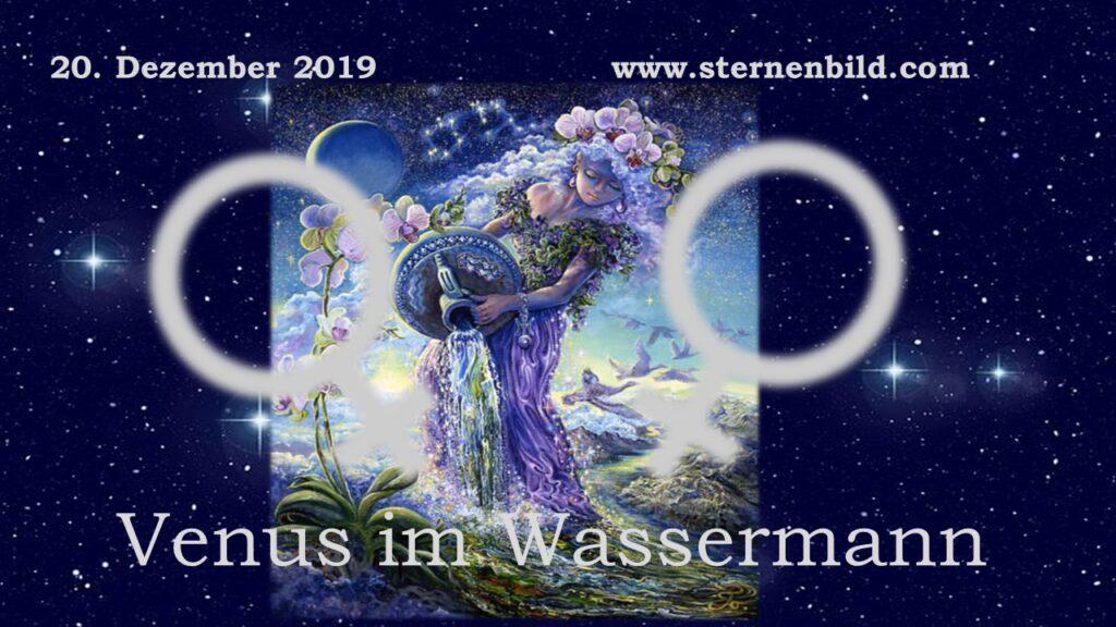 Venus im Wassermann