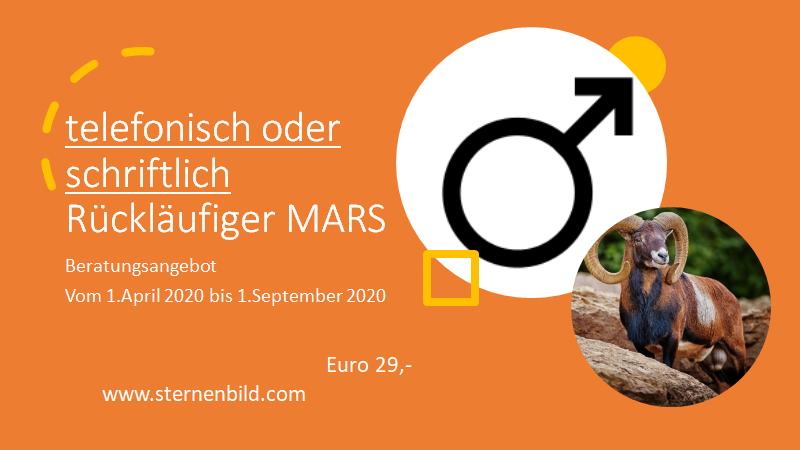 Rückläufiger Mars 2020