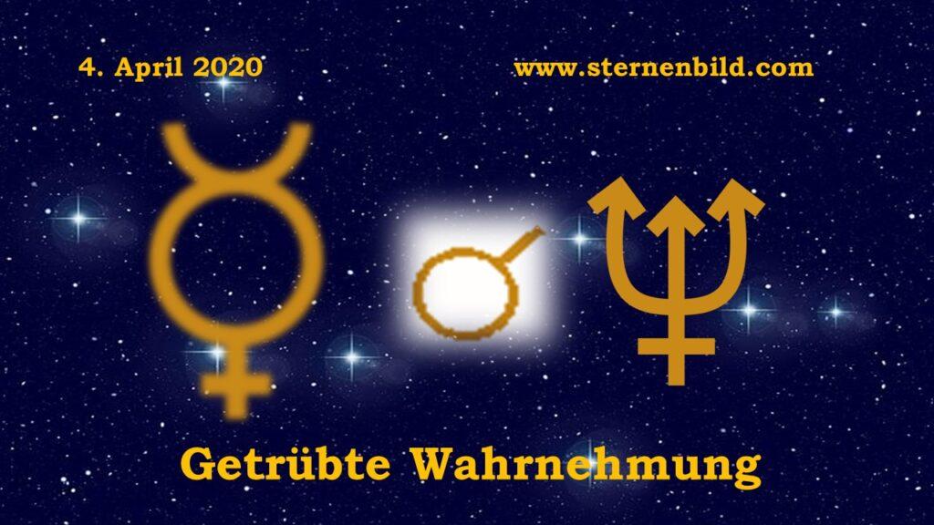 Merkur Konjunktion Neptun