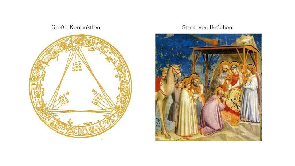 Große Konjunktion Der Stern von Betlehem