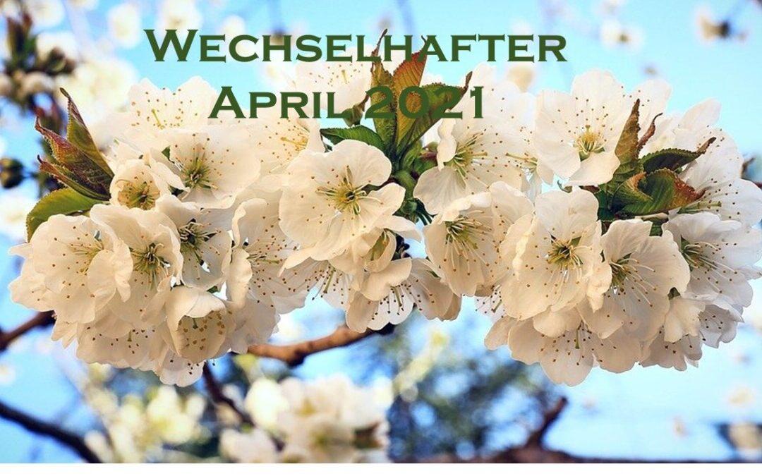 Wechselhafter April